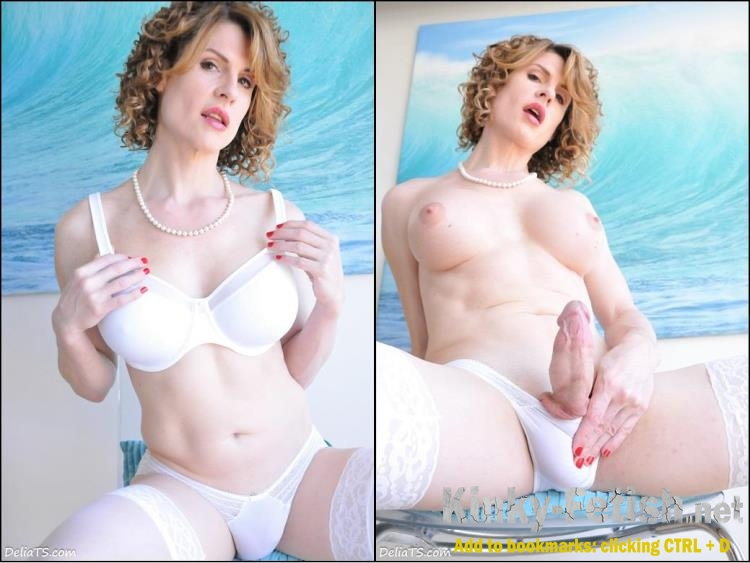 Delia DeLions - Delia TS White Set with Mirror (DeliaTS) | (HD | 2017)