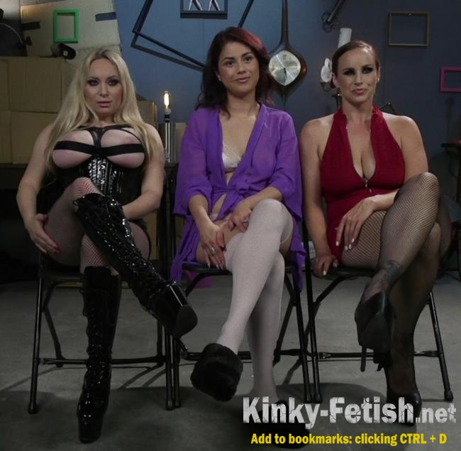 Aiden Starr, Bella Rossi, Penelope Reed - Dominating Dreams: First Time Kink Model is Tag-Teamed by Horny Lesbos (Kink, WhippedAss) | (HD | 2017)