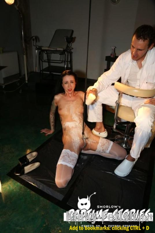 Stella Star - Piss play and BDSM action with German slave Stella Star and doctors PT 2 (PorndoePremium) | (FullHD | 2017)