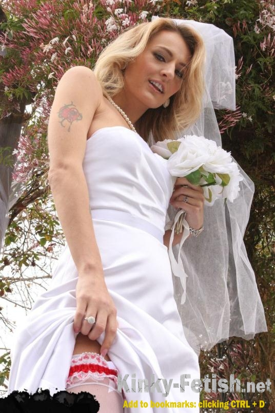 Bdsm wedding dress
