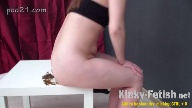 MilanaSmelly - Milana Pooping in Panties With Farting (HD | 2017)