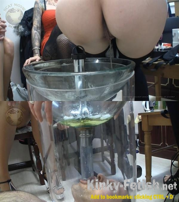 Amateur - Very much piss and spit for the slave (Piss Video) | (FullHD | 2017)