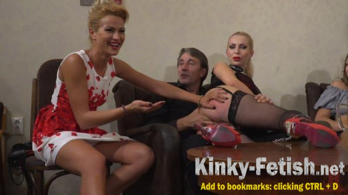 Cherry Kiss, Isabella Clark, Steve Holmes - Humiliated Whore Isabella Clark Disgraced and Anally Fucked in Public (Kink) | (HD | 2018)