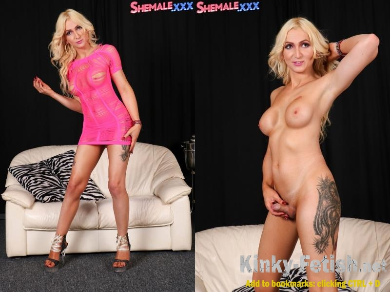 Paris - Paris - Hot Blonde Paris! (SheMale) | (FullHD | 2017)