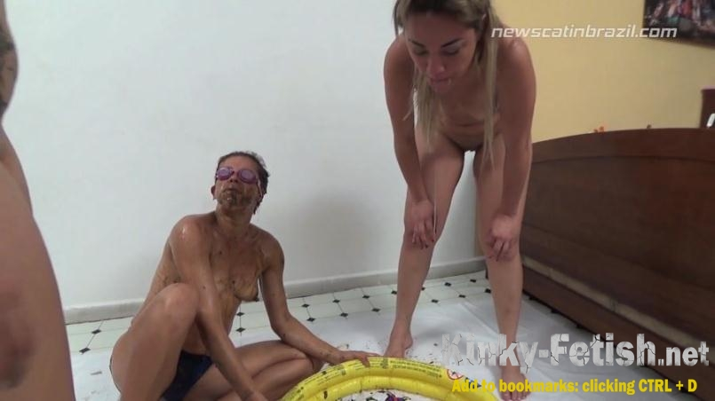 Cindy Blueberry, Diana, Marrie - A Pool of Shit (FullHD | 2017)
