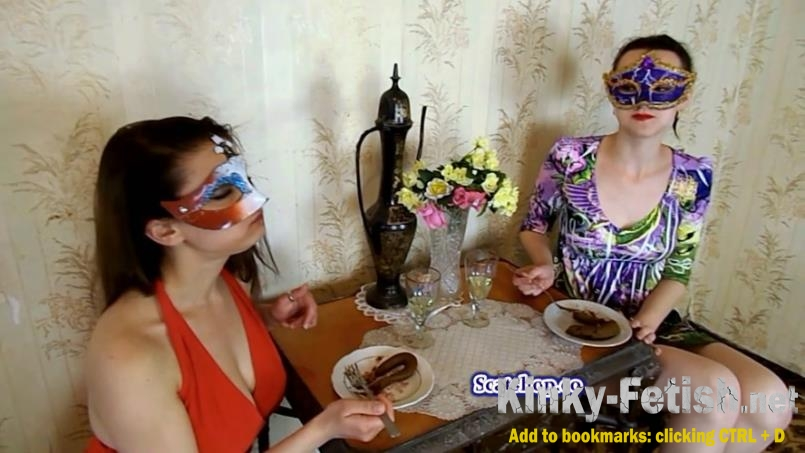 ModelNatalya94 - Carolina and Alice eat their poop (FullHD | 2019)