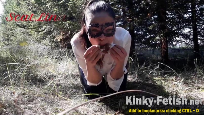 ScatLina - In the woods fetish  (FullHD | 2020)