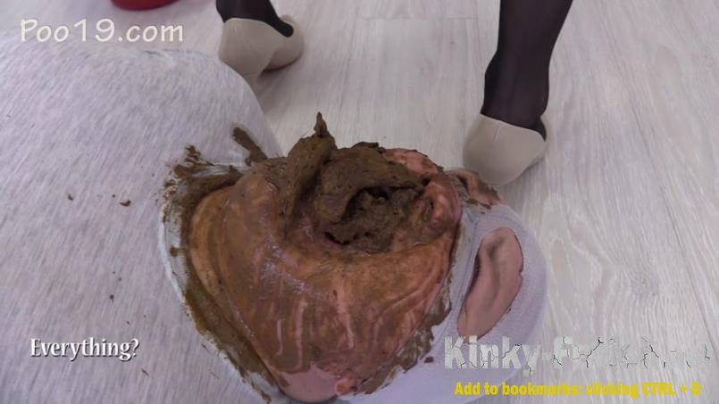 MilanaSmelly - Eating crap under penalty of punishment (FullHD | 2020)