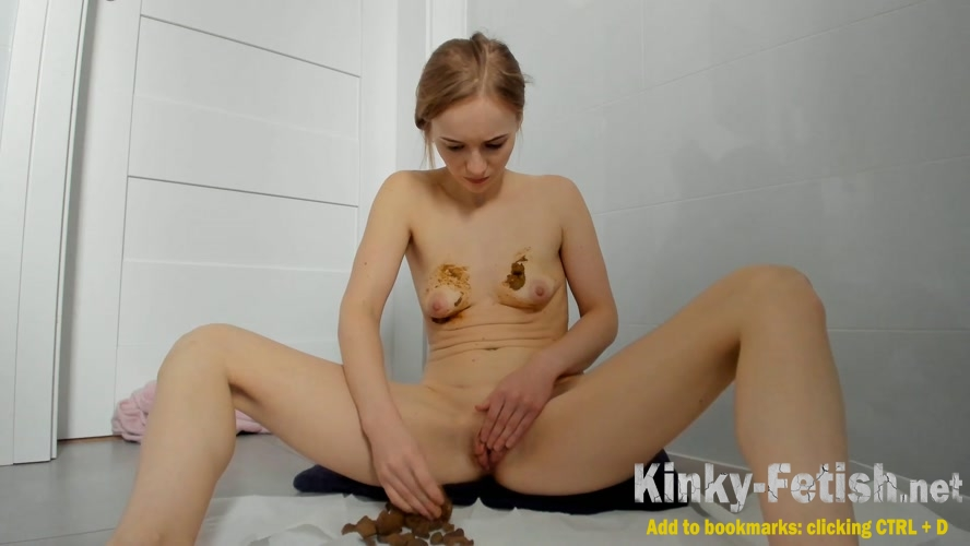 LucyBelle  - Poop in jeans and boobs smearing (FullHD | 2020)