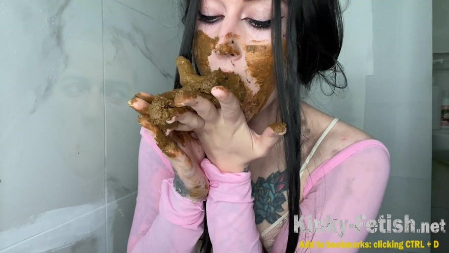 Hot Creepy Scat Girl Milky Puking (UltraHD/4K | 2020)